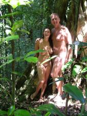 go walking naked in a rainforest is a beautiful experience you wont forget